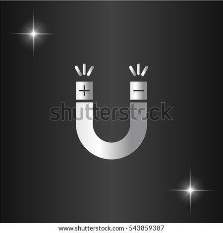 magnet icon illustration....