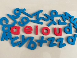 Magnetic Alphabet Letters Phonics Teaching Material