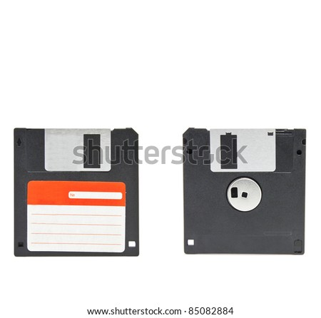 Magnetic Disk For A Computer Stock Photo 85082884 ...