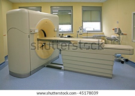 Magnetic resonance imaging scanner 03
