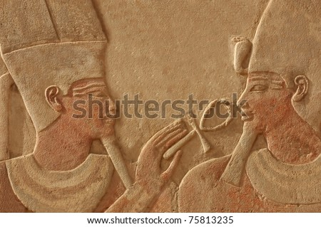 http://image.shutterstock.com/display_pic_with_logo/255850/255850,1303582211,1/stock-photo-magnificent-bas-relief-of-the-god-amun-makes-the-gift-of-life-ankh-to-the-pharaoh-thutmoses-iv-a-75813235.jpg