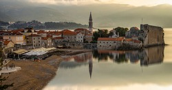 magnificent historical town in the adriatic sea of budva