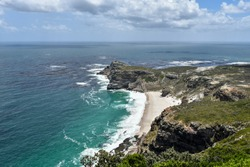 Magnificent view of Cape of Good Hope at Cape Point, Cape Town, South Africa