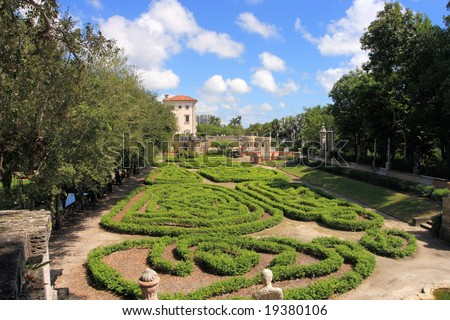 Magnificent Vizcaya Gardens estate and museum