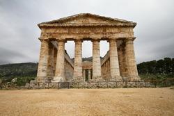 Magnificient Greek temple of Segesta