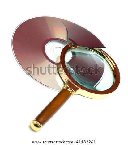 Magnifier and broken CD. Finding Bugs record ...  :)