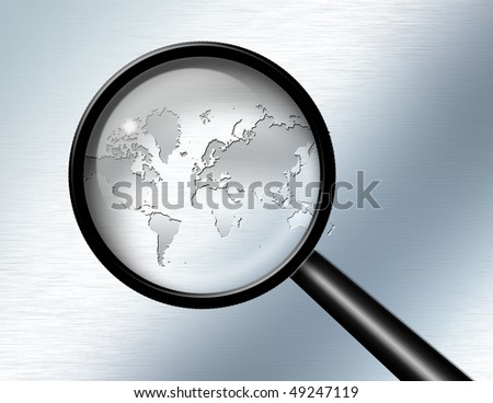 Magnify Glass World