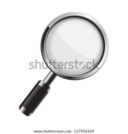 Magnifying glass. Vector version also available in gallery.