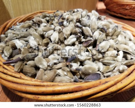 Magnolias, dried, can be used as an ingredient in cooking.