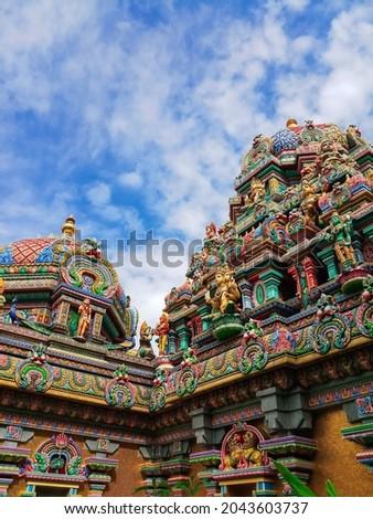 Maha Uma Devi Temple in Thailand Foto stock ©