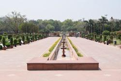 Mahatma Gadhi Ghat Rajghat at New Delhi