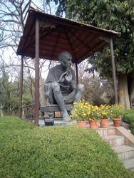 mahatma Gandhi photo in rajghat