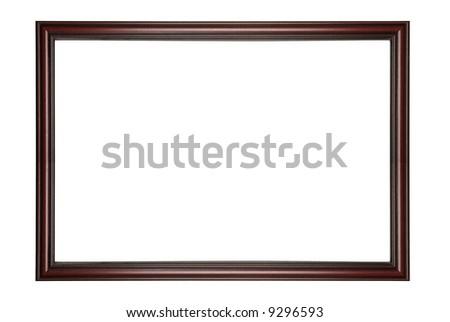 Mahogany Wood Frame