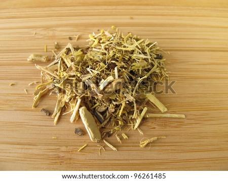 Mahonia root, Berberidis aquifolium radix