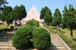 Mai Anh Domaine De Marie Church In Dalat, Vietnam
