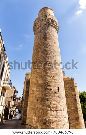 maiden's tower. fortress of the ...