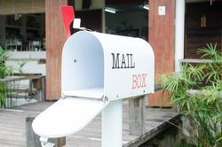 mail box on the shop
