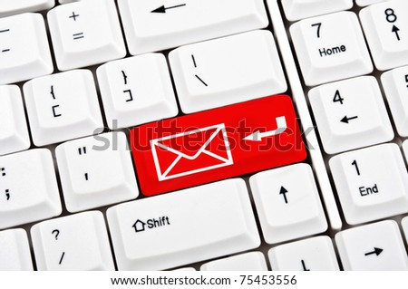 Mail in place of enter key