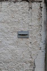 Mailbox (letterbox) closeup. Mail, Post. Letter. Correios. Correio. Carta. Mail Box. Letter Box.