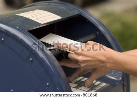 Postsendungumschlag