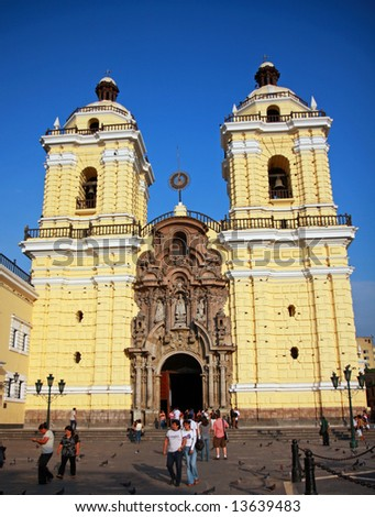 Main Cathedral in Lima, Peru