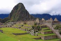 Main Plaza at Machu Picchu, Peru