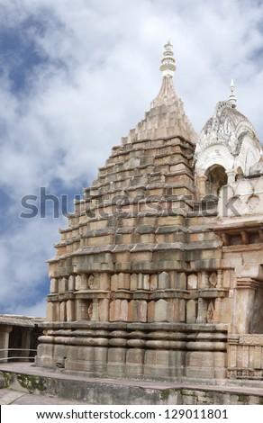 Main shrine of the Chausat Yogini temple, Jabalpur, India
