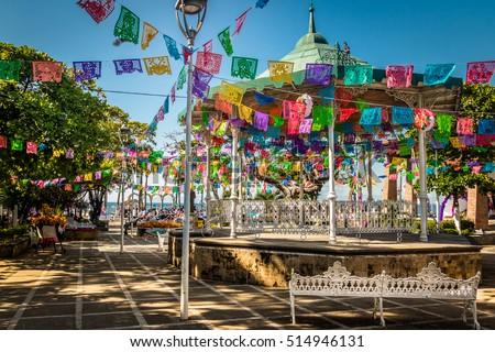 Shutterstock Main square - Puerto Vallarta, Jalisco, Mexico
