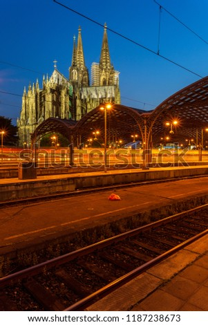Main station and cathedral
