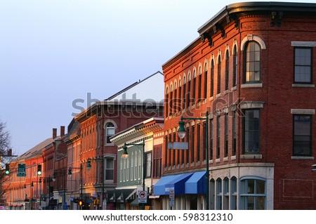 Main street U.S.A. Stock fotó ©