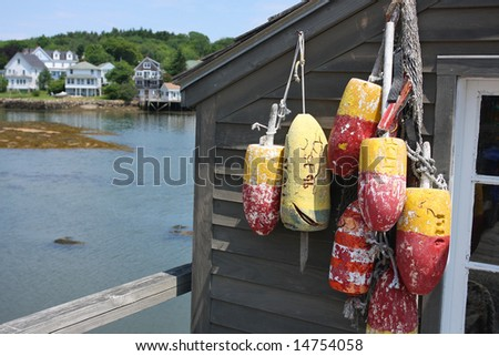 Maine Lobster Shack Bouys