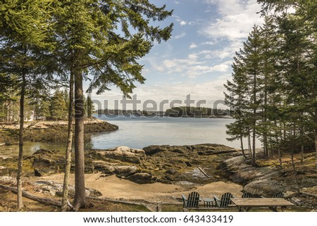 Maine water view #643433419