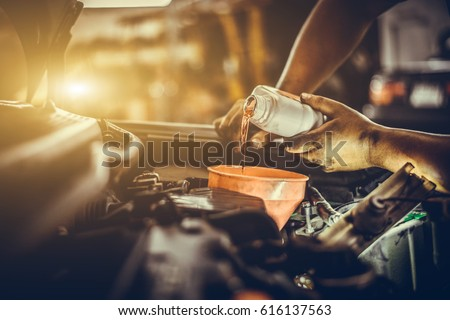 Maintenance car repair automotive worker