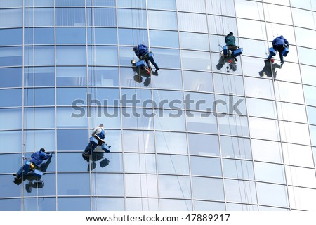 Maintenance workers