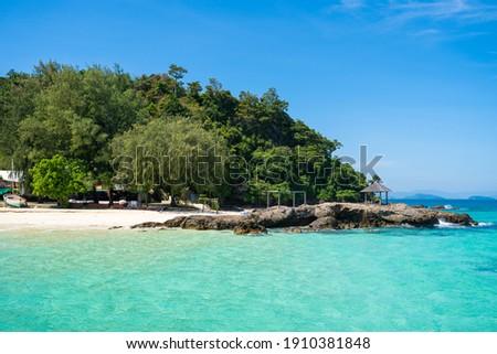 Maiton island private and beautiful island in Phuket,sea Foto stock ©