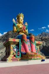 Maitreya (Future Buddha), Nubra Valley, India