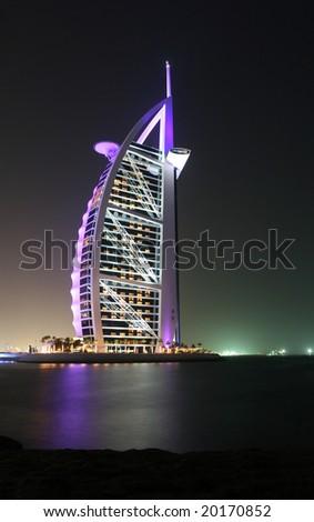 Majestic Burj Al Arab Hotel in Dubai