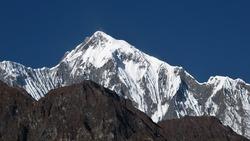 Majestic mountain of the Annapurna Range