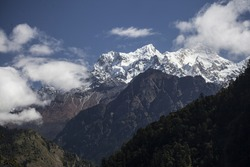 Majestic mountain of the Annapurna Range and surrounds