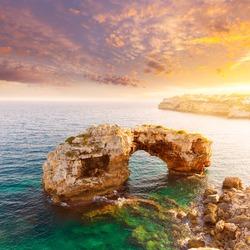 Majorca Es Pontas in Santanyi at Mallorca Balearic island of Spain