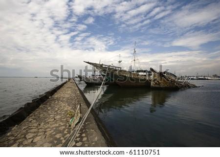 Makassar harbor