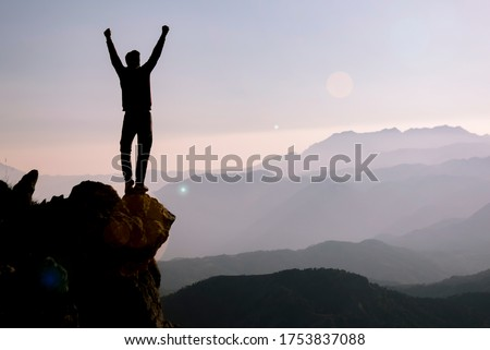 Make plans for your new goals. And press towards achieving the goals with all your strength. Photo stock ©