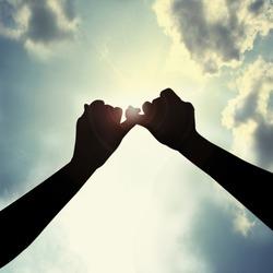 Make promise in sky