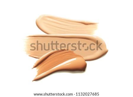 Make up bb cc cream or foundation smudge #1132027685