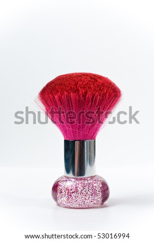 stock photo : Make-up brush