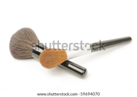 Make up brushes.