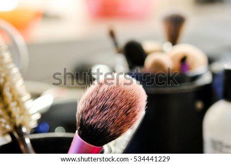 Make Up Set Professional Makeup Brushes In Tube Dirty Tools Soft