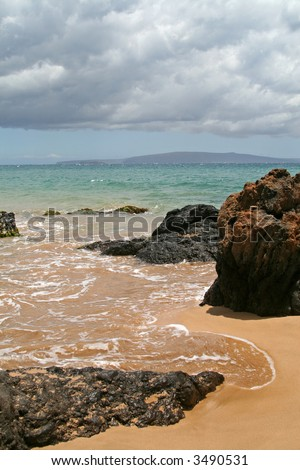 Makena Beach, Maui - stock photo