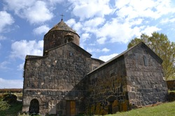 Makenyats Monastery  is a 9th–13th century Armenian monastery located 5 kilometres (3.1 mi) south of Lake Sevan in the village of Makenis in the Gegharkunik Province of Armenia.