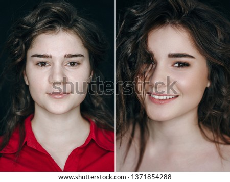 Makeup Transformation Images and Stock Photos - Page: 4 - Avopix com